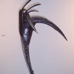 Collemi Raúl - Aguijón - Escultura en hierro - 2004