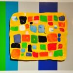 González Moreno Rafael - Geometria urbana - 40 x 34 - Técnica mixta - 2009