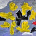 Sturgeon Richard - Negro - Óleo sobre tela - 24 x 30 - 2011