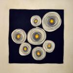 Arboleda Gloria - Problemas - Carbonilla y óleo s/ tela - 60 x 60 - 2005
