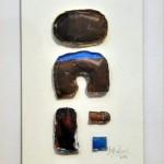 Borthwick Graciela - Escultura blanda - Técnica mixta - 20 x 30 - 2002