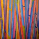 Coscia Mónica - Tiempo - Acrílico sobre tela - 94 x 94 - 2000