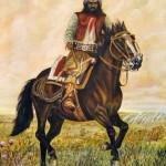 Dova Plácido - El centauro - Óleo s/ tela - 50 x 60 - 2002