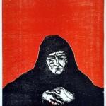 Jalil Osvaldo - Dolorosa II - Grabado - 65 x 100. - 1999
