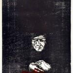 Jalil Osvaldo - Guerra II - Grabado - 65 x 100. - 1999