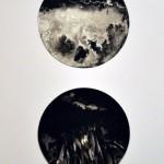 Messuti Gabriela - Momentos circulares I y II - tinta s/papel - 44 x 64 - 2010