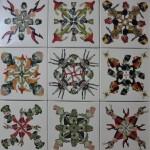 Padilla Alejandra - Recreación de ángeles III - Collage - 97 x 98 - 2000
