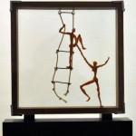 Bono Noe - Serie Escaleras - Escultura -  2011 - 10 x 30 x 32