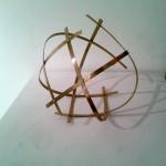 Menta Elizabeth - La tortuga alada - 25 x 20 x 20 - Escultura plegable en bronce