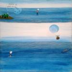 Brea Miguel - Intuición - 90 x 90 - Acrílico s/ tela - 2009